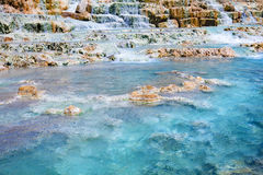 Thermal springs San Filippo Royalty Free Stock Image