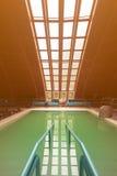Thermal swimming pool. Stock Photos