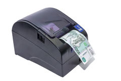 Thermal transfer printer Stock Photos