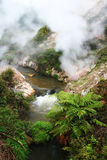 Thermal valley Royalty Free Stock Photography