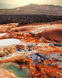 Thermal zone in Iceland Royalty Free Stock Photography