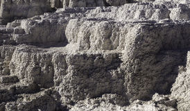 Thermalen vaggar textur Arkivbild