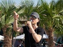 Therme Balotesti - concert Publika photo stock