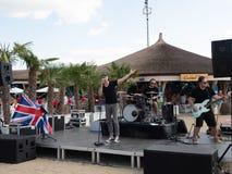 Therme Balotesti - concert Publika - drapeau BRITANNIQUE Photos libres de droits
