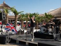 Therme Balotesti - koncertowy Publika zdjęcia royalty free