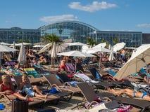 Therme Balotesti - mooi en ontspannend gebied dichtbij Boekarest royalty-vrije stock fotografie