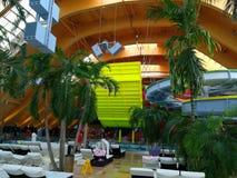 Therme Bucharest. Galaxy area at Balotesti, Romania. Therme resort stock photos