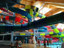 Therme Bucharest - Galaxy area Stock Image