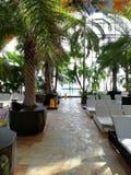 Therme Bucharest resort - Galaxy area. At Balotesti, Romania royalty free stock photography