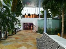 Therme-Erholungsort Innen Lizenzfreie Stockfotos