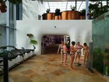 Therme resort indoor Stock Images