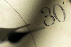 Thermemeter e graus Célsio Imagem de Stock