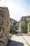 Thermes Antoninus Pius σε Καρθαγένη Στοκ Φωτογραφία