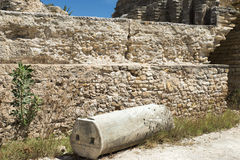 Thermes Antoninus Pius σε Καρθαγένη Στοκ Φωτογραφίες