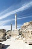 Thermes Antoninus Pius σε Καρθαγένη Στοκ Εικόνα