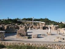 Thermes of Antoninus Pius Royalty Free Stock Photos