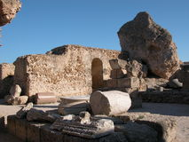 Thermes of Antoninus Pius Stock Image