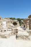 Thermes of Antoninus Pius at Carthage Royalty Free Stock Image