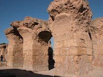 Thermes di Antoninus Pius Fotografia Stock