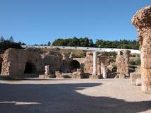 Thermes di Antoninus Pius Fotografie Stock