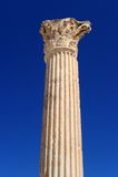 Thermische baden van Antonin in Carthago Stock Afbeelding
