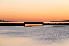 Thermische Brücke Stockbild