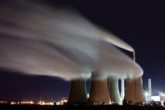 Thermische elektrische centrale Stock Fotografie