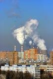 Thermische krachtcentrale Stock Fotografie