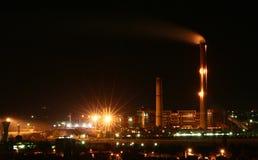 Thermische krachtcentrale Royalty-vrije Stock Foto's