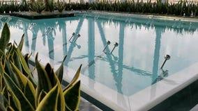 Thermische pool - borrelende waterspiegel