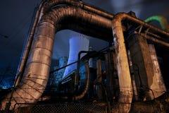 Thermische Triebwerkanlage Lizenzfreies Stockfoto