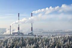 Thermische Triebwerkanlage Stockfotos