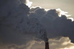 Thermische Triebwerkanlage Lizenzfreie Stockfotos