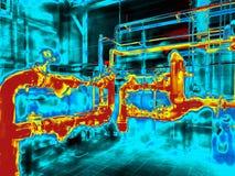 Thermische weergave Royalty-vrije Stock Afbeeldingen