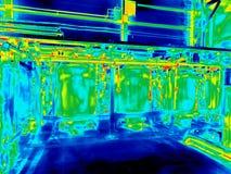 Thermische weergave Stock Afbeelding