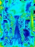 Thermische weergave Stock Afbeeldingen