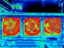 Thermische weergave Royalty-vrije Stock Fotografie