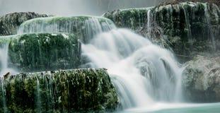 Thermisches Wasser für das Baden. Stockfotos