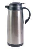 Thermo Flasche für heiße Getränke lizenzfreies stockbild