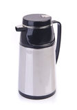 Thermo flask on background Royalty Free Stock Photo