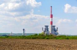 Thermo Kraftwerk lizenzfreie stockfotos