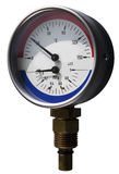 Thermo-manometer Royalty Free Stock Images
