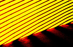 Thermo photograph of the heat Royalty Free Stock Photography