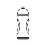 Thermo sport bottle Stock Image