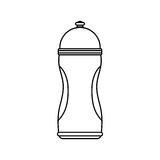 Thermo sport bottle Royalty Free Stock Photography