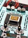Thermo tables for electronic chips. Thermo tables for electronic boards and chips royalty free stock images