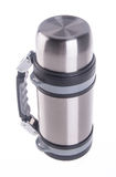 Thermo, Thermo flask on background. Stock Photos