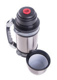 Thermo, Thermo flask on background. Stock Images