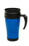 Thermocup blue isolated Stock Photo