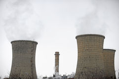 Thermoelectric plant Stock Photography